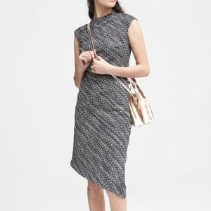 Banana Republic Assymetric Sheath Dress